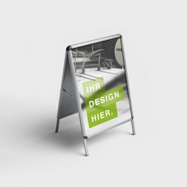 Indoor Kundenstopper A1 (Federn)